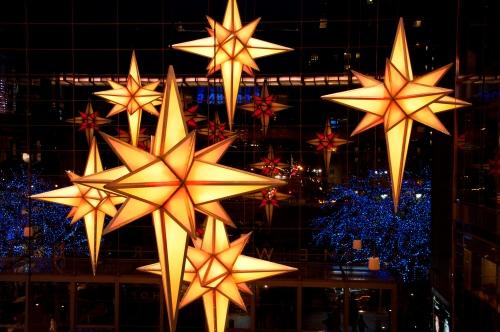 Stars over Columbus Circle