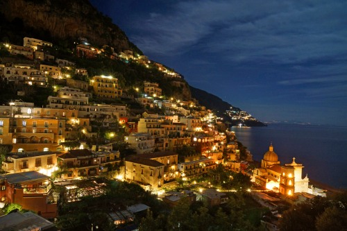 Positano at Night