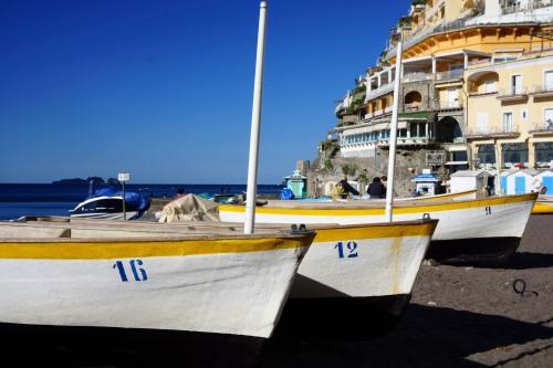 Positan fishing boats